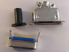 Centronics Stecker 24 pol. MALE mit Lötanschlüssen, mit Metallgehäuse SC11/1005