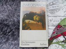 Zwiegespräch Eva Strittmatter Gedichte Aufbau Buch DDR