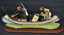 1995 Angela Tripi Sons Of The River 18'' Native American Statue Mint #277/1,000