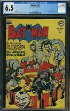 Batman #73 1952 CGC 6.5 Famous Joker Cover Super Golden Age Key!!!