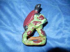 New listing Vtg Sea Turtle On Rock Cave Ceramic Aquarium Ornament Figurine Japan Unused Nm