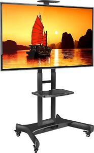 ONKRON Mobile TV Cart TV Stand w/Mount for most 40 to 70'' Flat Screens up t...