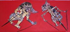 Pair of Balinese Handmade Ceremonial Puppets