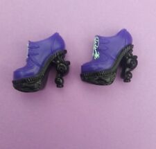 MONSTER HIGH DOLL CLOTHES 13 WISHES TWYLA  Purple Shoes Heels