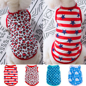 Summer Thin Cotton Dog Vest Breathable Costume Apparel Puppy Clothes Pets Shirt