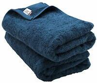 Bloom Imabari Towel Bath Towel 2 Sheets Sanhokin Cotton (sea blue) F/S w/Track#