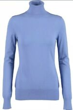 emilio pucci Jumper Blue/violet Polo Neck Long Sleeved Size S