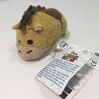 Tsum Tsum Bullseye Horse Toy Story Mini Plush Authentic Disney Store US Tags