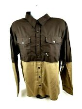 Enyce Mens 2XL Long Sleeve Button Front MultiColor Two Tone Shirt