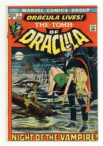 Tomb of Dracula #1 FN- 5.5 1972 1st app. Dracula in a Marvel comic