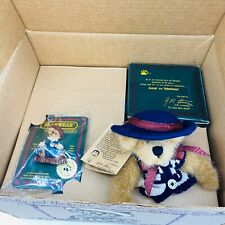 Boyds Bears 2000 Fob Membership Club Boxed Set New Catherine and Caitlin