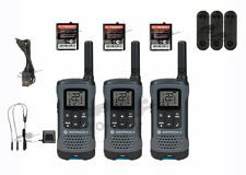 Motorola Talkabout T200TP Walkie Talkie 3 Pack Set Two Way Radio FREE SHIPPING