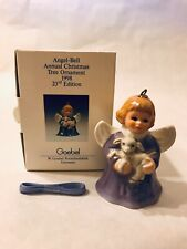Goebel 1998 Annual Angel Bell, 23rd Edition, Color Lavender Germany