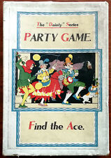Dainty Series Party Game Find The Ace/How Many Aunts Have You? Vintage Card game