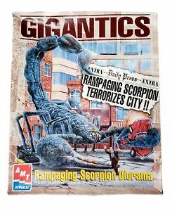 Gigantics Rampaging Scorpion Diorama AMT/ERTL - No. 8390 Read Description
