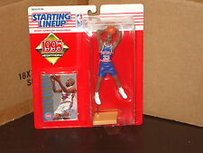 1995 STARTING LINEUP GRANT HILL ROOKIE BASKETBALL FIGURE SEALED DETROIT PISTONS