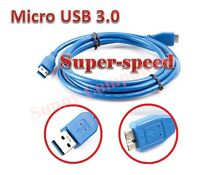 Premium USB 3.0 SuperSpeed Male to Micro USB 3.0 Cable For HDD Hard Drive 1.5M