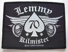 lemmy kilmister WOVEN  PATCH