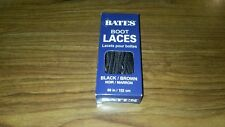 Bates Unisex Shoe Boot Laces 60in Black Brown