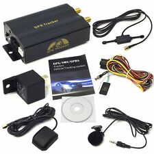 Vehicle Car GPS Tracker Class GPRS GSM SMS TK103A Tracking Device Alarm System