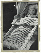 Baby Blanket Knitting Patterns Two for the price of one DK 559