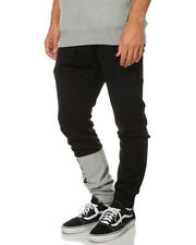 BILLABONG - Division Slim Black Fleece Track Pants, Size XL. NWT. RRP $69.99.