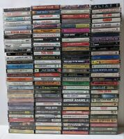 Lot of 40 Random Cassette Tapes Different Collection Rock Country Pop 80s 90s