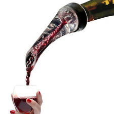 Premium White Red Wine Aerator Pour Spout Bottle Pourer Aerating Decanter Hot