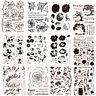 Transparent Silicone Clear Rubber Stamp Sheet Cling Scrapbooking Album Diary DIY