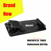0180305K51 Replacement Belt Clip For MOTOROLA MINITOR V 5  two-tone voice Pager