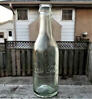 🍁 Coca-Cola Straight Sided ABM Toronto Ontario Canada Soda Water Bottle 1908