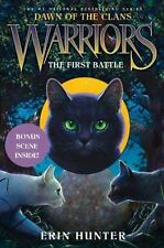 Dawn of the Clans: Warriors: The First Battle by Erin Hunt - HARDCOVER - NEW!