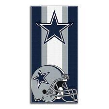 "NFL Dallas Cowboys Logo Cotton Beach Towel 30"" x 60"" Brand New"