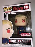 Funko POP! The Boys Homelander Red Glow Eyes 984 Target Exclusive Sold Out Deep