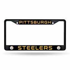 Rico Pittsburgh Steelers Chrome License Plate Frame