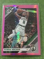 Kemba Walker 2019-20 Optic Donruss - Hyper Pink Prizm - Boston Celtics #52