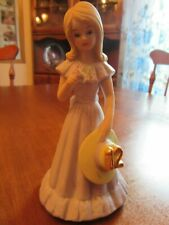 "Growing Up Birthday Girls Age 12~Blonde Hair~Lavender Dress~5 1/2"" (1981) Enesco"