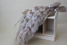 "Mohair Doll Hair col light brown  8-11"" in 0.35 oz locks angora DIY baby reborn"