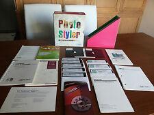 U-Lead Photo Styler 1.02 for Windows 3.0 - Vintage Software - RARE