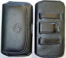 EXTRA LARGE iPhone 5, 5c, & 5s Phone Case Pouch Holster w Belt loop & Belt Clip