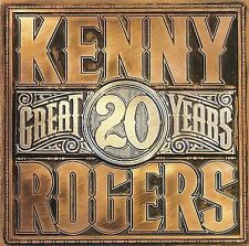 KENNY ROGERS-20 GREAT YEARS CD (1990 Reprise Records )   CD