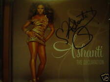 The Declaration SIGNED by Ashanti + PHOTO