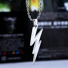 Men's Metal Movie Super Hero The Flash Man Pendant Silver Chain Necklace US7