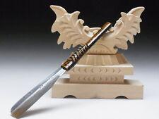 Medium Blade! Shave Ready! TAMAHAGANE NAGAMASA J*apanese Straight Razor #A-196