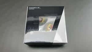 Original Porsche Set Hub Caps Platinum-Seidenglanz Coloured 00004460723