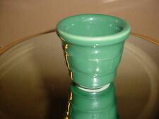 Longaberger Blue Stars Votive + Green Woven Traditions Votive Toothpick Pottery