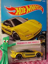 '90 ACURA NSX #94✰yellow;pr5✰NIGHTBURNERZ✰2017 US Hot Wheels case D