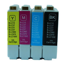 4x LC 51 LC 57 LC 1000 Ink Cartridges For Brother  DCP-130C DCP-135C MFC-235C