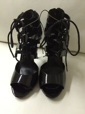 New Steve Madden Micahh Black High Heels Ladies Shoes Size 7