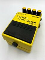 BOSS OD-2 Turbo Overdrive '80s MIJ Vintage Guitar Effect Pedal Made in Japan